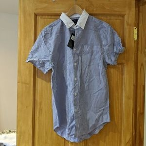 Five Four Colombia Men's Short Sleeve Button Down